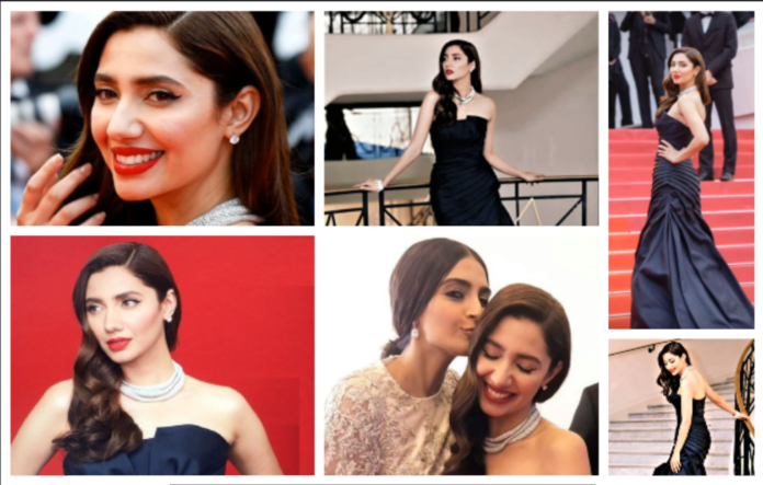 Mahira Khan Cannes 2018 Red Carpet