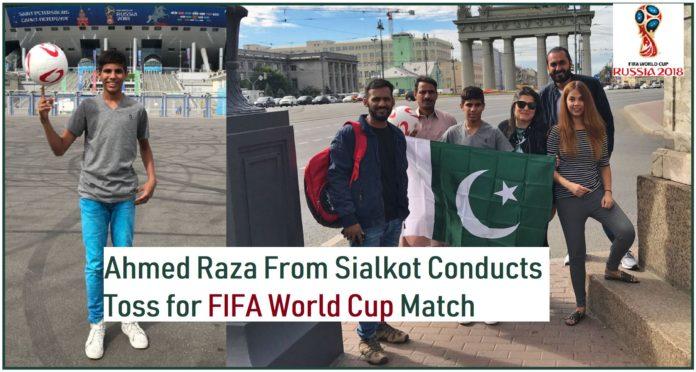 FIFA World Cup Match toss Ahmed Raza