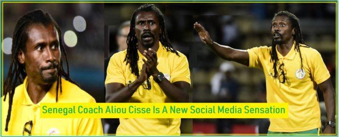 Senegal Coach Aliou Cisse