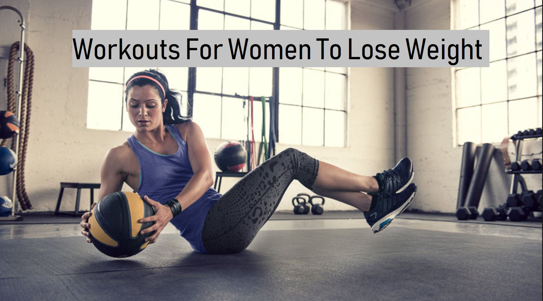 how to train in the gym to lose weight