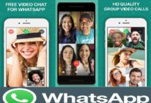 WhatsApp's group video calling