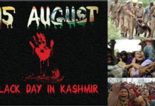 Black Day In Kashmir