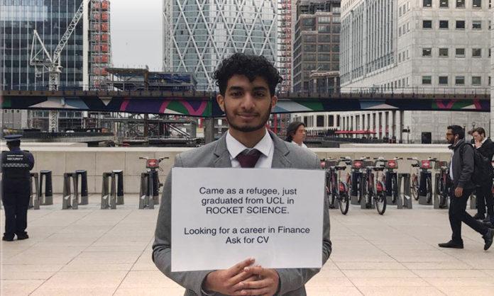Refugee Graduate Canary Wharf