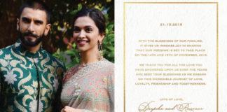 Deepika weds Ranveer
