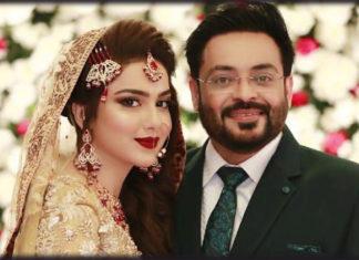 Aamir Liaquat Wedding with Tuba Anwar