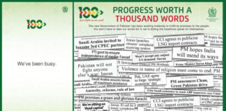 PTI Government 100 Days