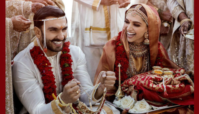Deepika Ranveer Wedding Pictures