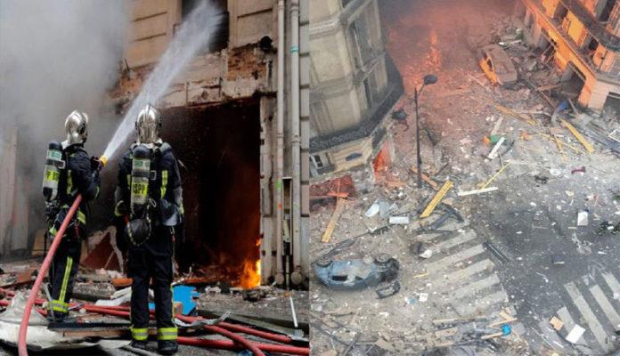 Paris Bakers Explosion