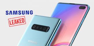 Samsung's s10