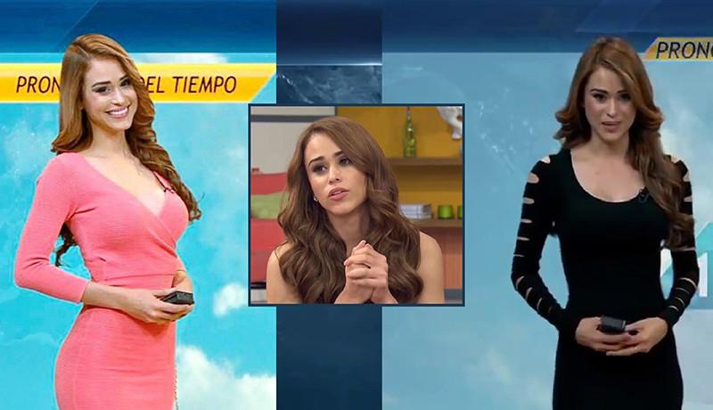 Mexcian Weather Girl Yanet Garcia