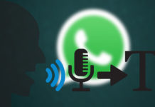 Whats App Voice Typing Feature