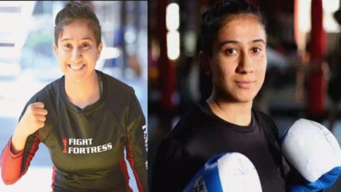 MMA Fighter Anita Karim