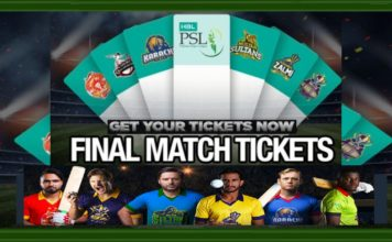 Tickets for PSL Final in Karachi