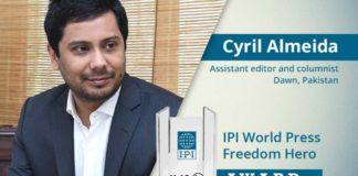 IPI Press Freedom Award