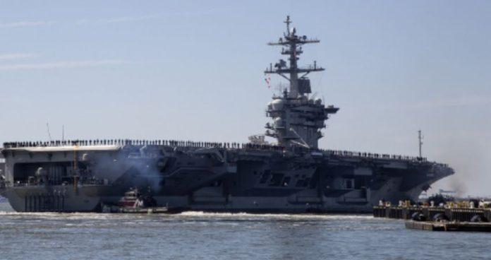 Pentagon sending warships