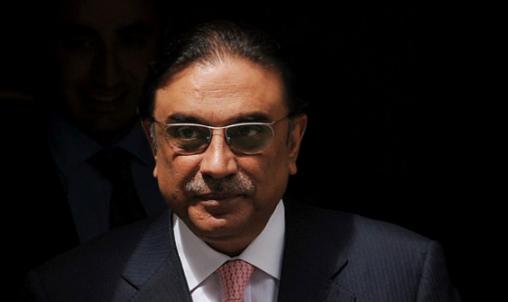 Former President Asif Ali Zardari