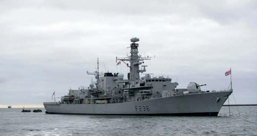 IRGC British Navy Clash
