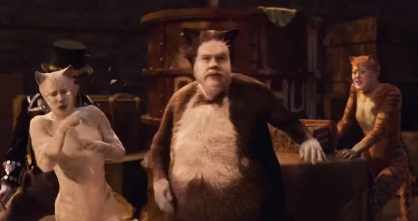 People Are Trolling James Corden For His Looks in Cats