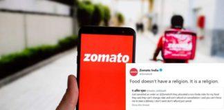 Zomato Replies to Racist Customer