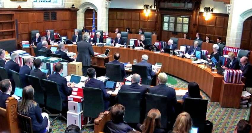 British Supreme Court Suspending Parliament