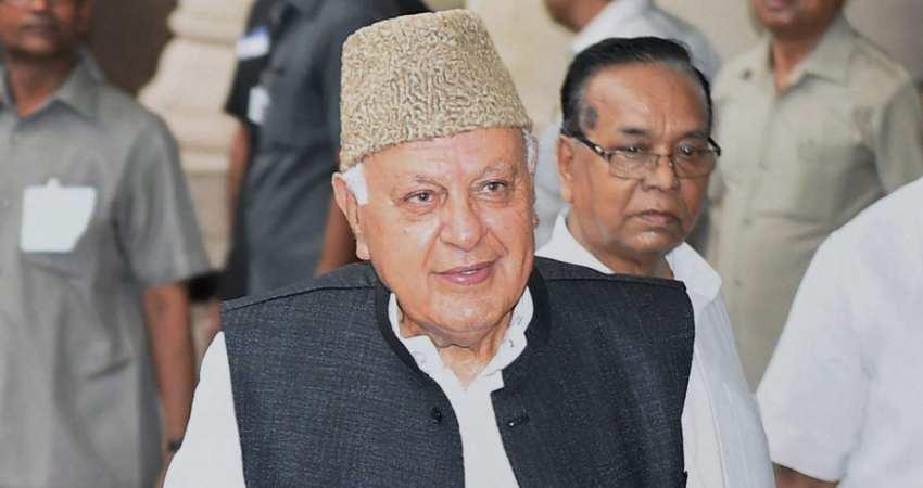 Farooq Abdullah Arrest