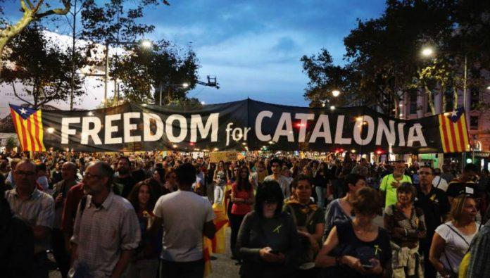 Catalonia Crisis Revolt