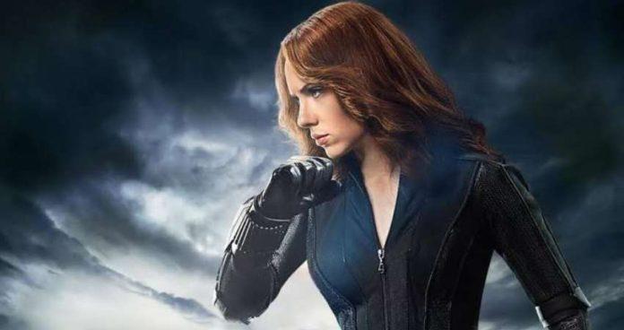 Scarlet Johansson in Black Widow