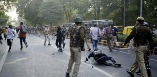 Violence on JNU Campus