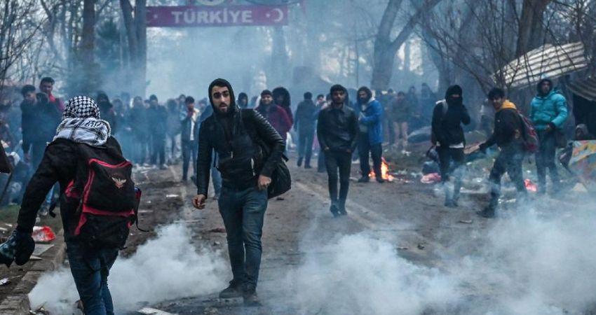 Turkey Greece border riots