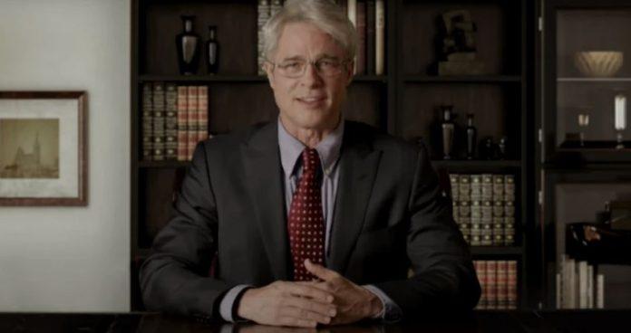 Brad Pitt as Dr. Anthony Fauci