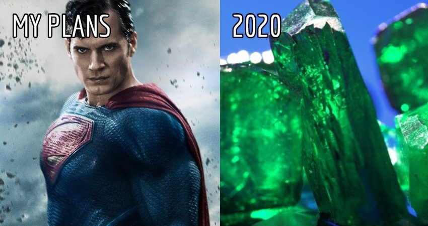 Funny Memes about My Plan 2020
