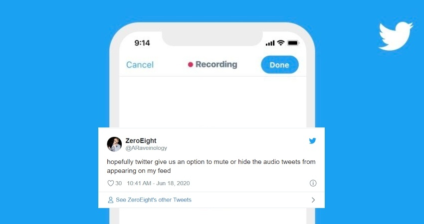 Audio Tweet Feature