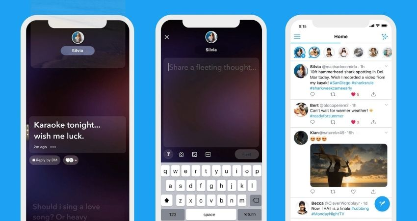 Twitter Stories Feature